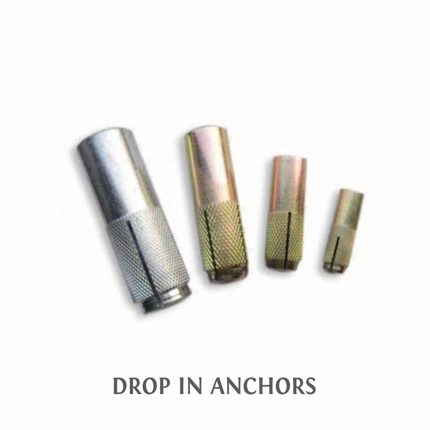 3-DROP IN ANCHORS