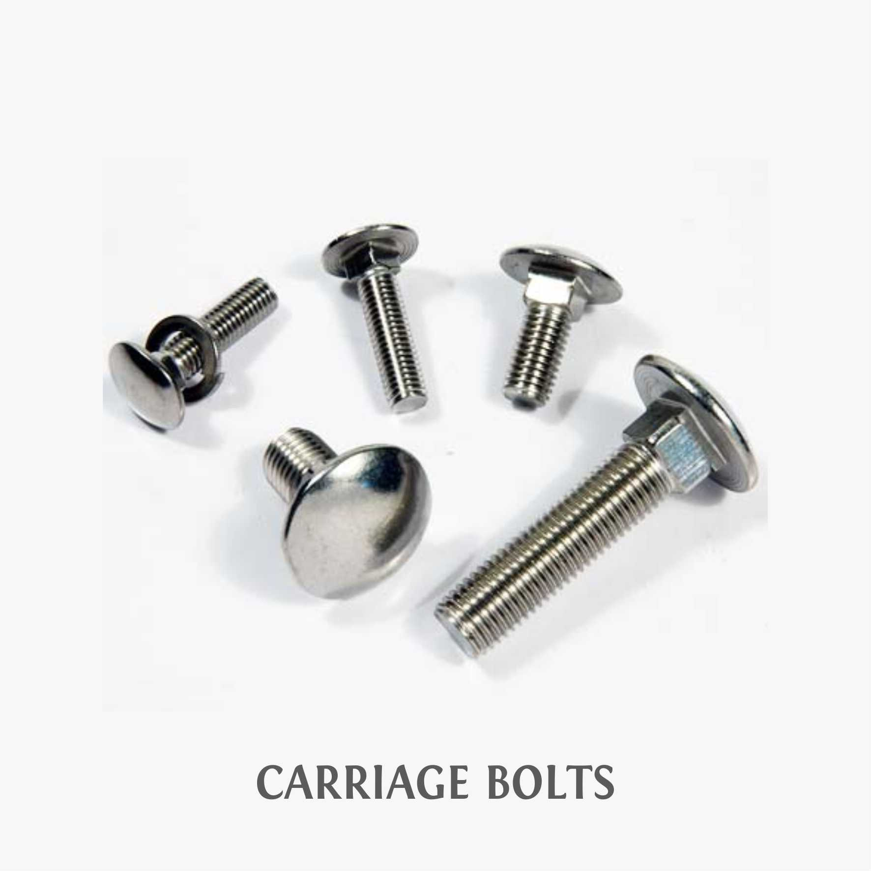 3-CARRIAGE BOLTS