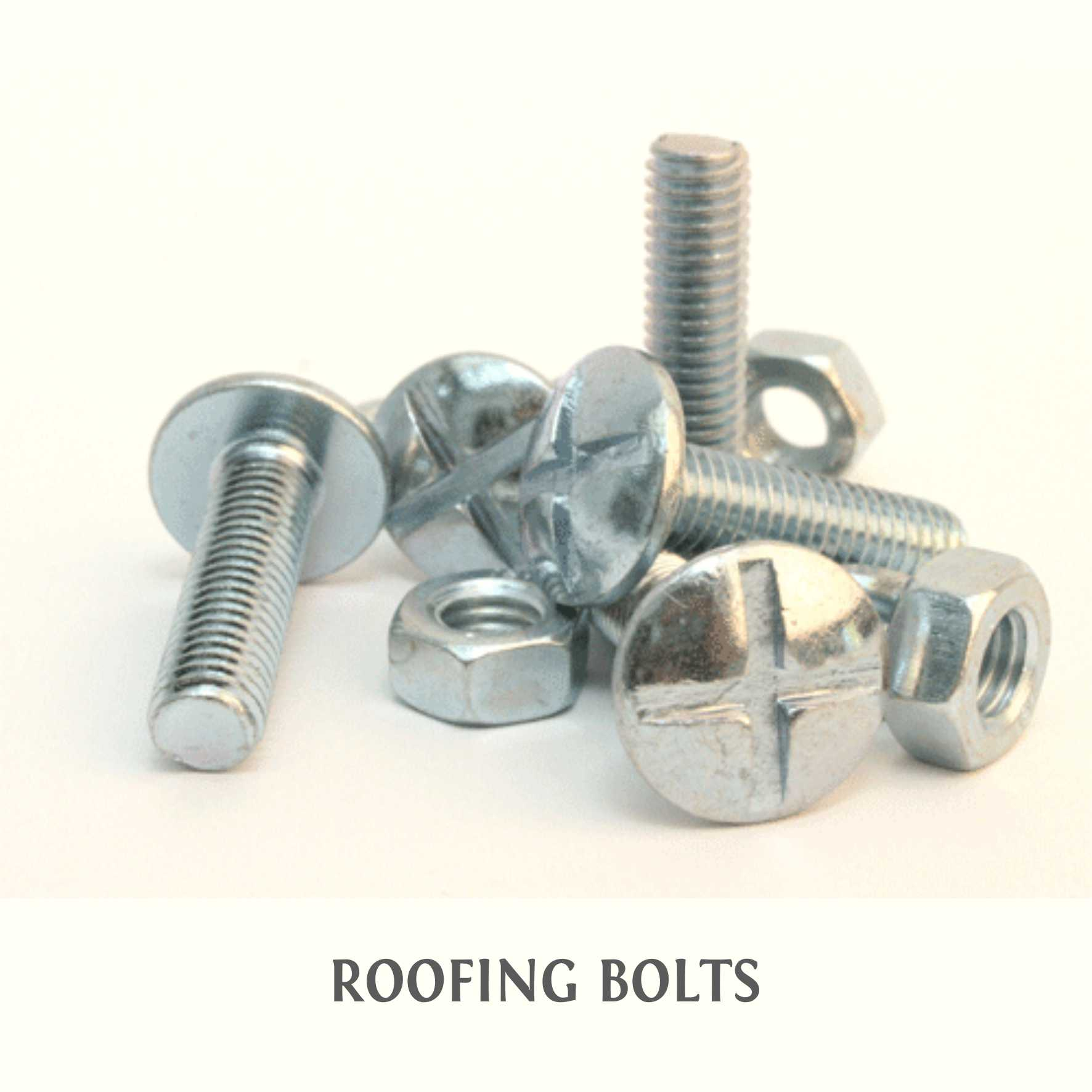 4-ROOFING BOLTS