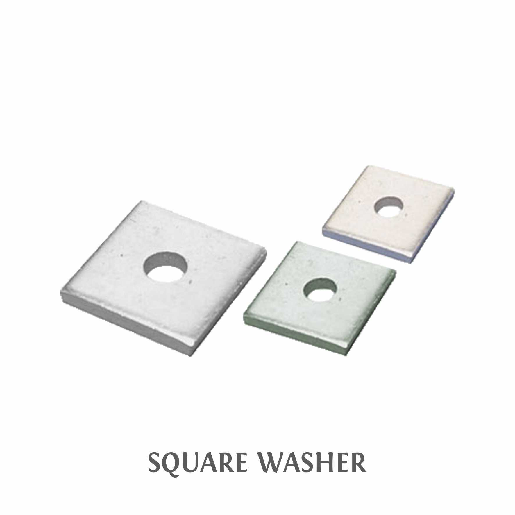 4-SQUARE WASHER